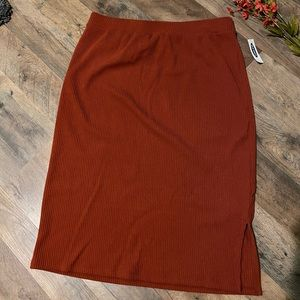 NWT Old Navy Ribbed Skirt